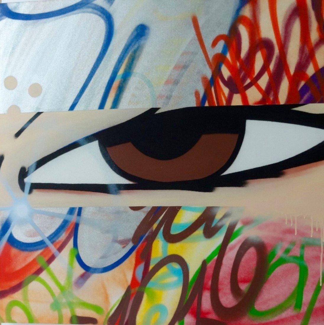 CRASH Grafitti Street Art on Canvas