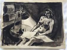 Dox Thrash African-American (1893-1965) Drawing