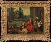 Flemish School Old Master Painting Baroque