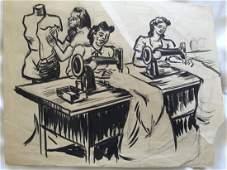 Dox Thrash African-American drawing Philadelphia
