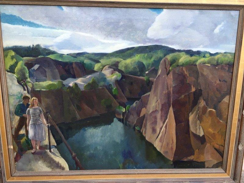 Leon Kroll Oil Painting Gloucester