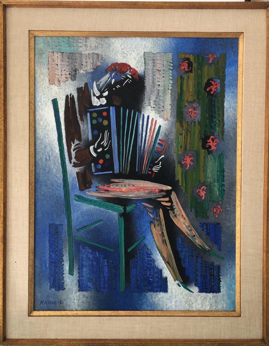 Vytautas Kasiulis Lithuanian French Impressionist