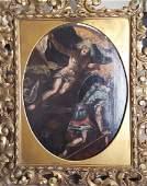 Italian old master painting baroque resurrection.