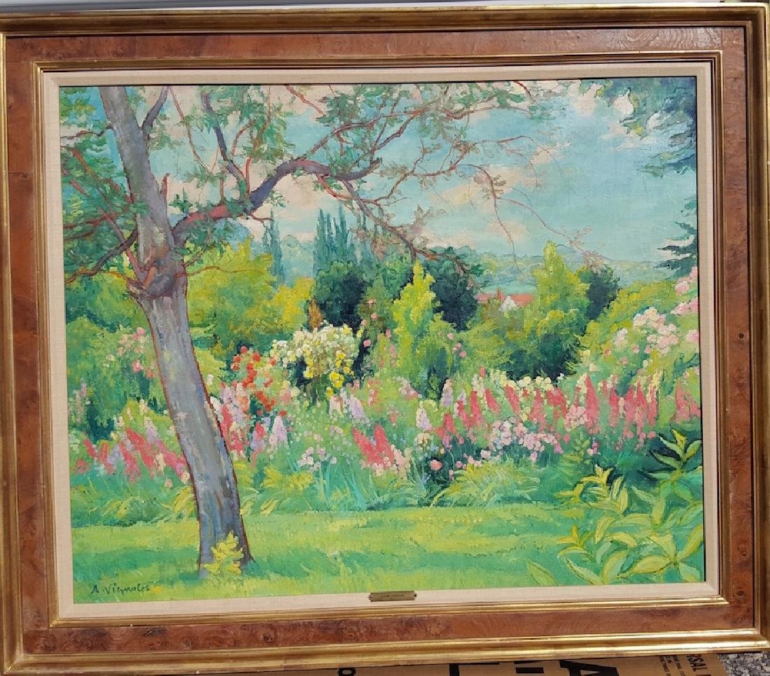 Andre Vignoles French Impressionsit Modern Fauvist
