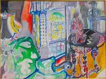 Muriel D. Wolfson Fauvist Impressionist California