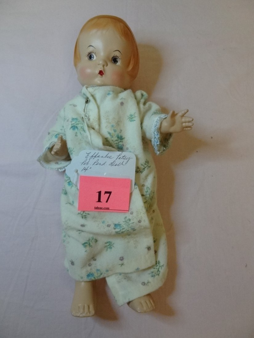 17: 14'' EFFANBEE ''PATSY'' MARKED PAT. PEND. DOLL WITH