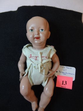 13: 10'' ''TINY TEARS'' COMPOSITION BABY DOLL WITH ORIG