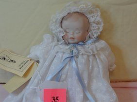 35: 112'' MARION HUNKINS 3-FACE BODY DOLL WITH TAGS 198