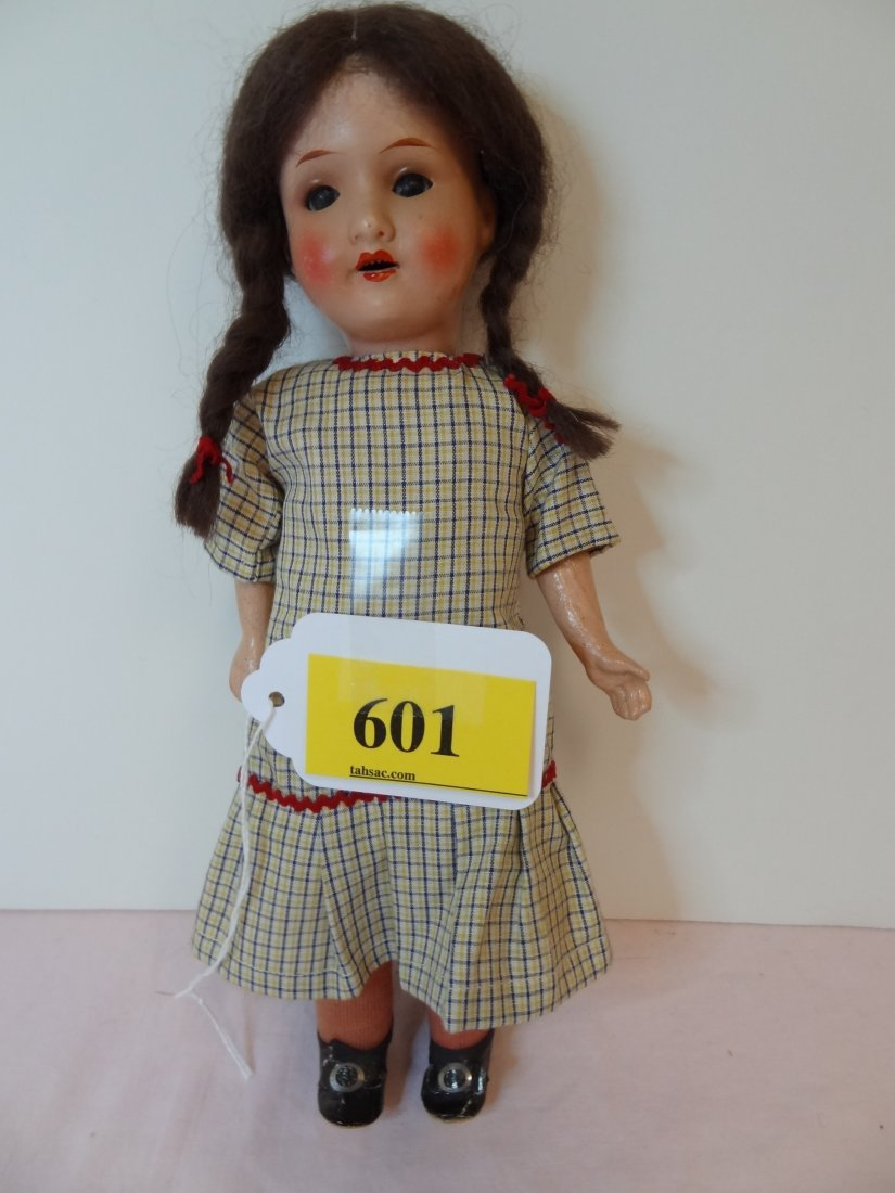 601: 10'' DOLL, MARKED ''ARMAND MARSEILLE GERMANY 390 4