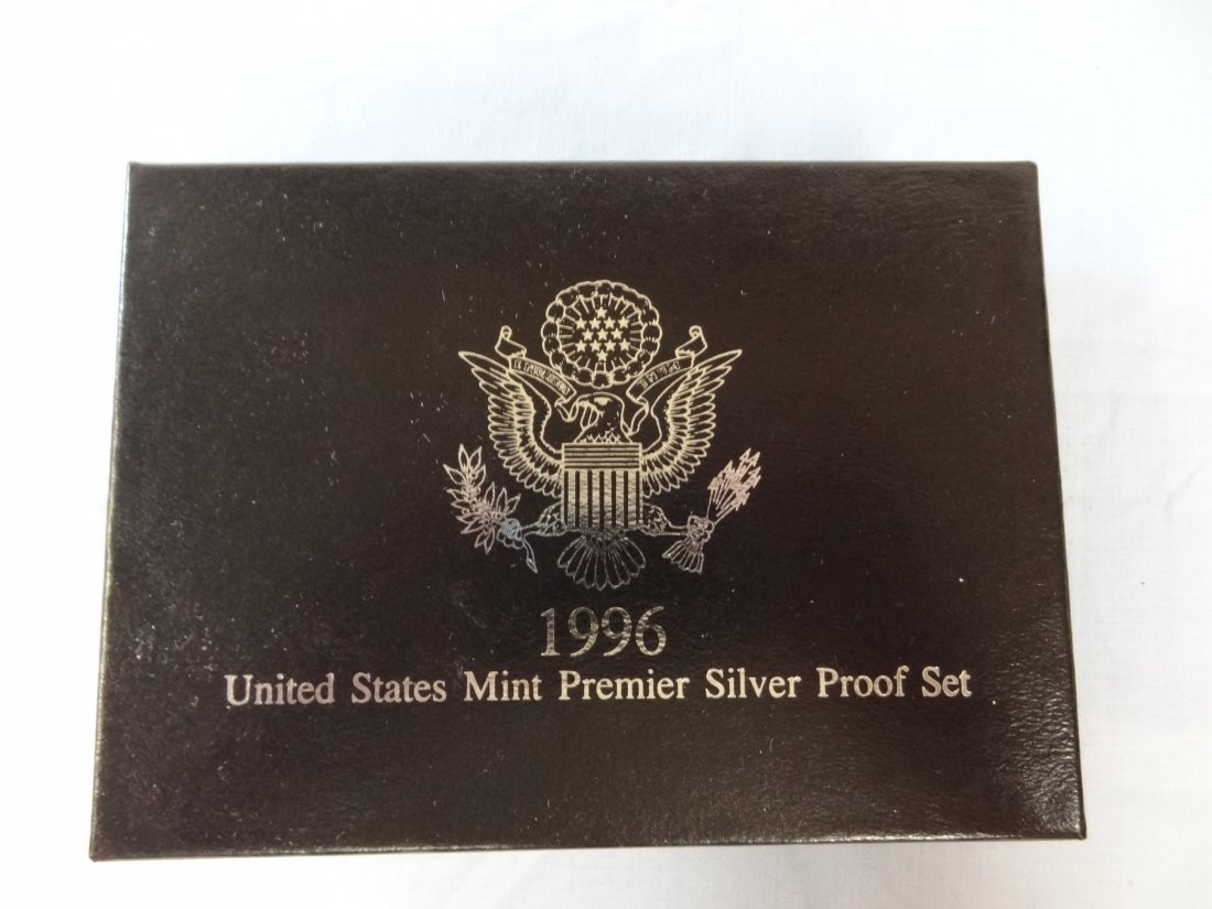 1996 UNITED STATES MINT PREMIER SILVER PROOF SET INCLUD