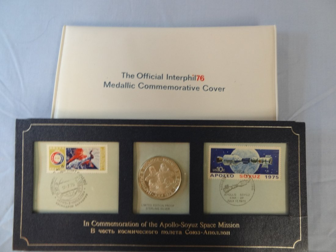 TWO POSTAL SERVCE COMMEMORATIVES; THE OFFICIAL INTERPHI
