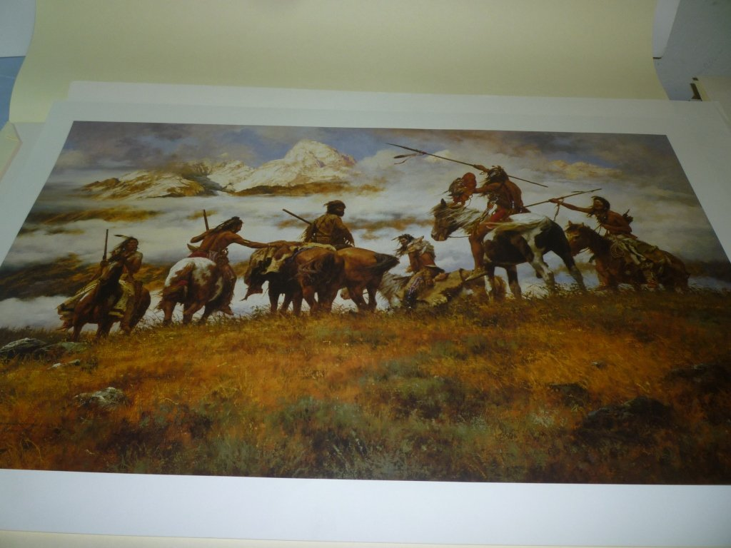 PRINT BY HOWARD TERPNING ''THE PLOY'' #81/1000 IMAGE SI