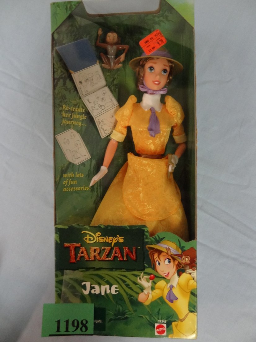 DISNEY'S TARZAN PRESENTS ''JANE'' DOLL. INCLUDES FUN AC