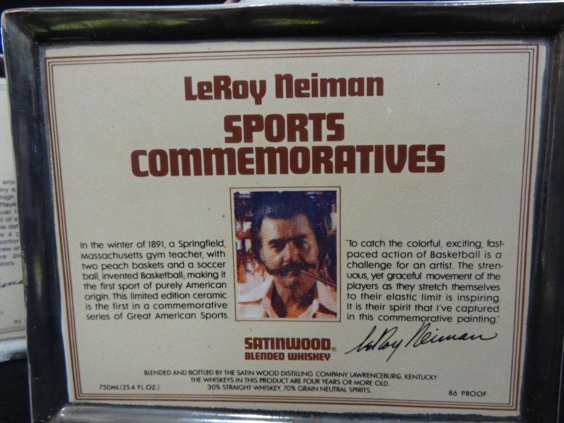 1979 LEROY NEIMAN SPORTS COMMEMORATIVE DECANTERS, GROUP - 5