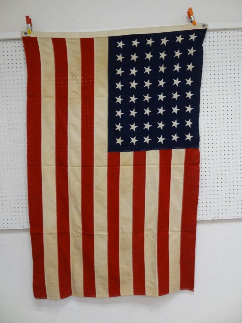 48 STAR VINTAGE USA AMERICAN  FLAG 4' X 6'