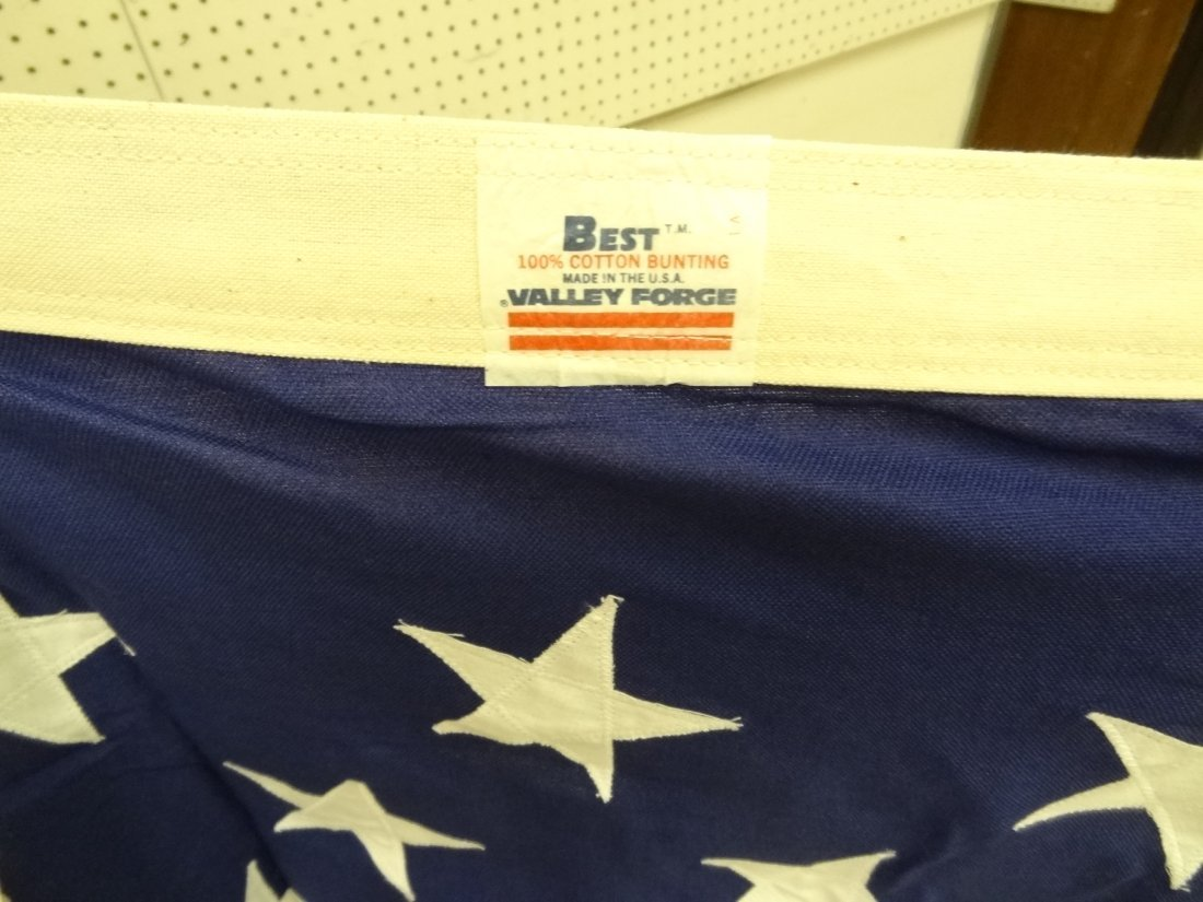 USA AMERICAN 50 STAR FLAG, SEE PHOTO FOR SIGNAT