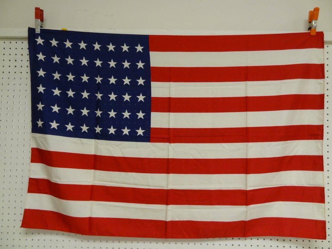 VINTAGE USA AMERICAN FLAG, 48'' X 32''
