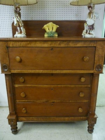 4 DRAWER BONNETT CHEST
