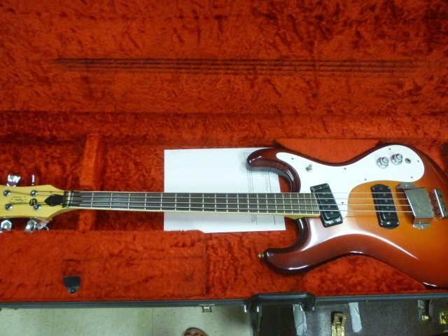"""MOSRITE ACOUSTIC GUITAR: """"OF CALIFORNIA"""" BY MOSELY"""