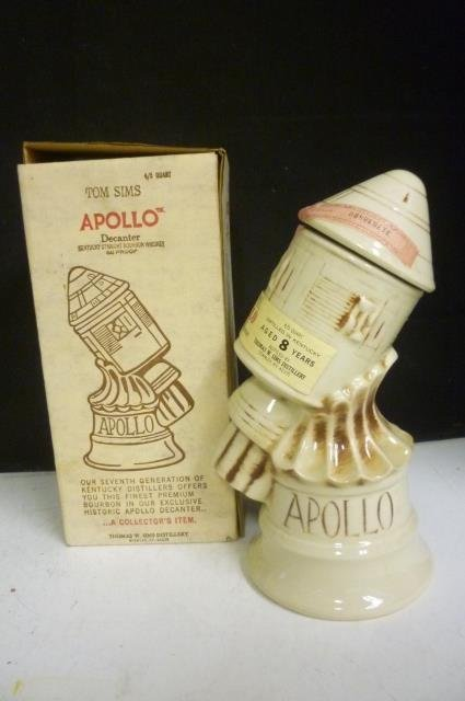 APOLLO DECANTER: TOM SIMS KENTUCKY STRAIGHT BOURBON WHI