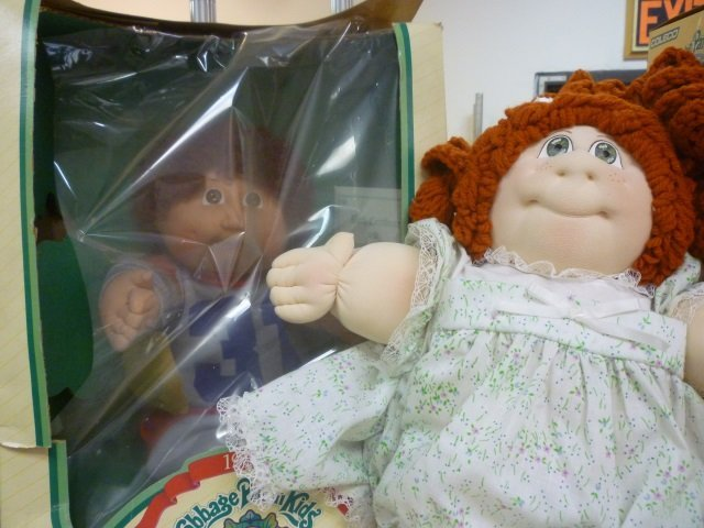 CABBAGE PATCH MARTY MURRAY AND TJ TOTS DOLL