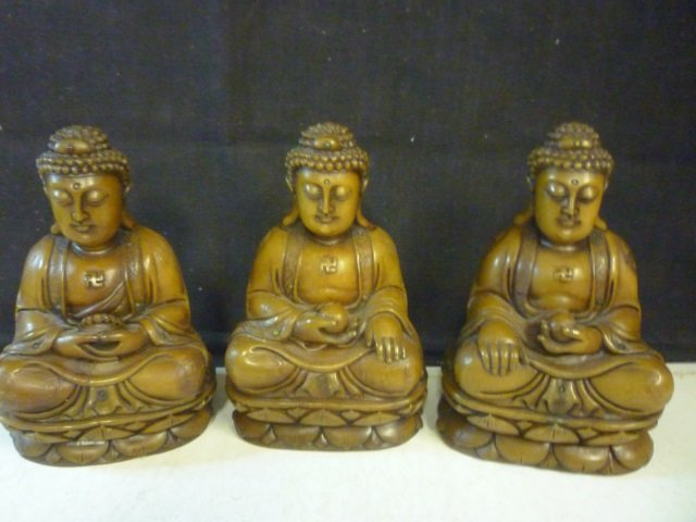 SOAPSTONE FIGURES: HIGHLY DETAILED WITH FLORAL