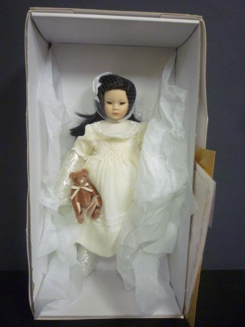 PAULINE'S LIMITED EDITION DOLL: STACEY PORCELAIN, NUMBE