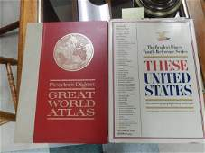 READERS DIGEST COFFEE TABLE BOOKS LOT INCLUDES TWO