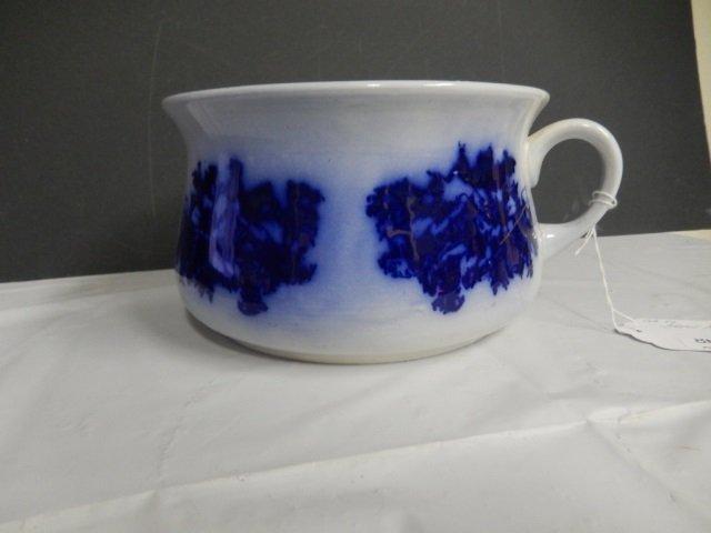 FLOW BLUE AS-IS: MINOR CRACK OTHWERISE BEAUTIFUL FLOW