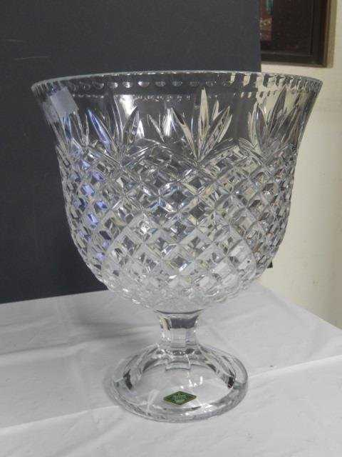 Shannon Crystal Vase Large Crystal Dish Vase Made By