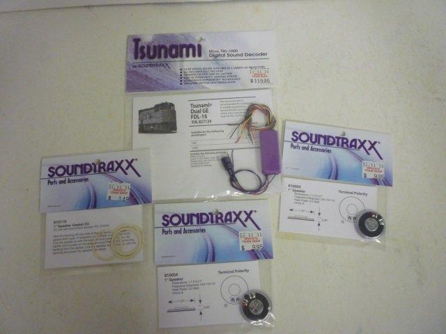 TRAIN SOUND PARTS: TSUNAMI & SOUNDTRAXX (1) SPEAKER