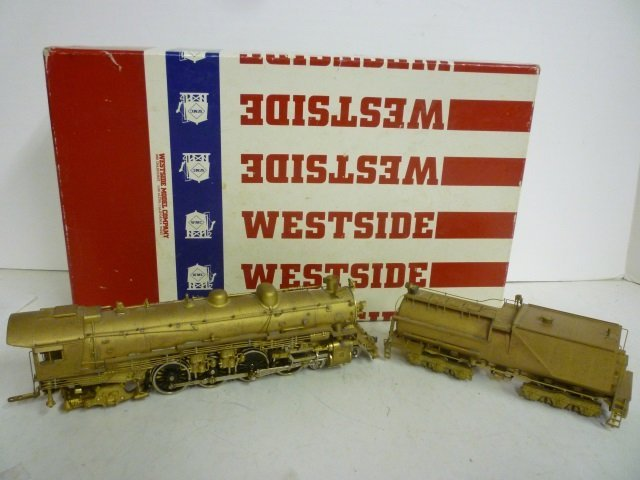 LOCOMOTIVE: SOUTHERN PACIFIC MT-5 4-8-4 WESTSIDE MODEL