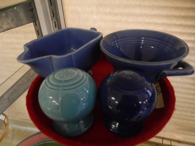 FIESTA LIKE PIECES LOT INCLUDES 2 SALT AND PEPPER