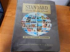 STANDARD WORLD STAMP ALBUM