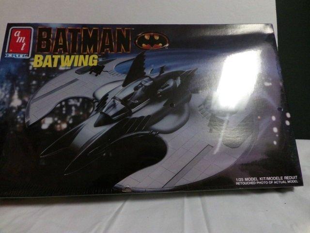 BATMOBILE & BATWING MODEL KIT - 2