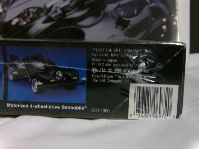 BATMOBILE & BATWING MODEL KIT - 4