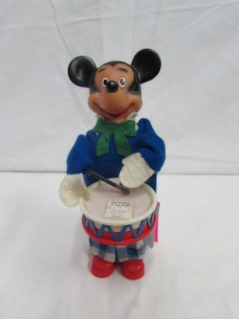 WIND-UP MOUSE WITH DRUM