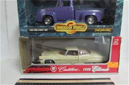 COLLECTIBLE MODEL CARS (2) ORIGINAL PACKAGING AMERICAN