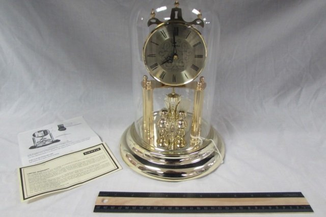 ANNIVERSARY CLOCK 12 IN TALL BATTERY OPERATED