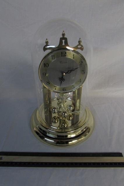 """CONCORDIA ANNIVERSARY CLOCK 11"""" TALL, BATTERY OPERATED"""