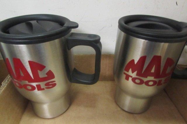 SNAP-ON & MAC TOOLS COFFEE MUGS (6) 2 MATCHING MAC - 4