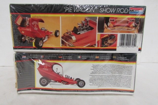 """2 """"PIE WAGON"""" SHOW ROD MODEL KITS BOTH ARE IN ORIGINAL - 3"""