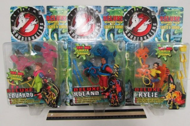 """""""EXTREME GHOSTBUSTERS"""" DELUXE FIGURES (3) 3 FIGURES,"""