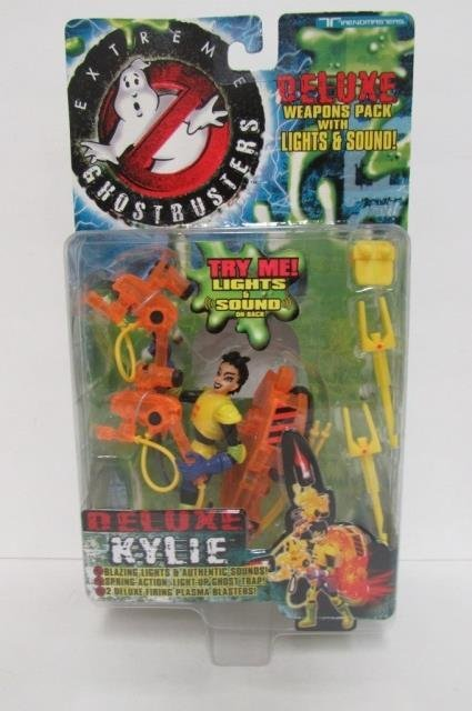 """""""EXTREME GHOSTBUSTERS"""" DELUXE FIGURES (3) 3 FIGURES, - 4"""