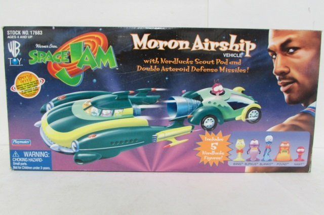 SPACE JAM MORON AIRSHIP VEHICLE IN ORIGINAL PACAKGING, - 2