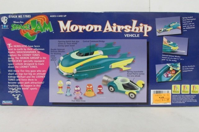 SPACE JAM MORON AIRSHIP VEHICLE IN ORIGINAL PACAKGING, - 3
