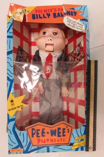 BILLY BALONEY VENTRILOQUIST DOLL IN ORIGINAL PACKAGING,
