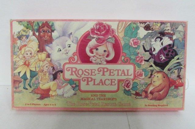 3 VINTAGE BOARD GAMES ROSE PETAL PLACE, RAINBOW BRITE - 2