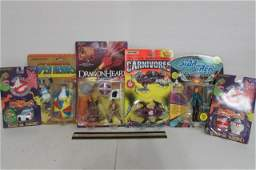 ASSORTED VINTAGE ACTION FIGURES 6 ALL ARE IN ORIGINAL
