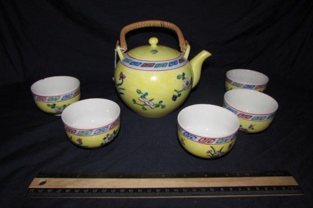 VINTAGE CHINESE TEA SET